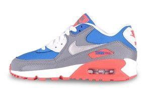 Migliori prezzinike donne air max 90 essential scarpe da corsa grigie blu arancioni nuova collezione 2015