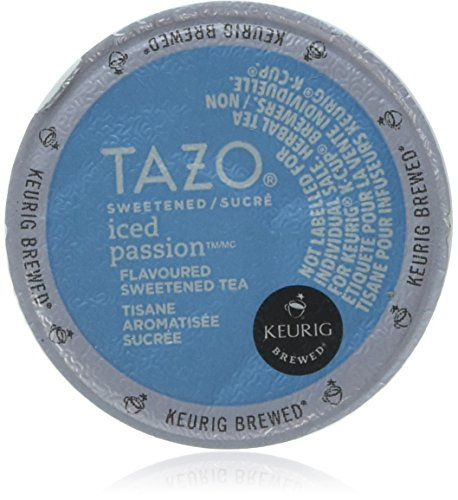 Tazo Sweetened Iced , 10 Count K-cups (Pack of 2) (Herbal Tea- Iced Passion) * Find out more at the image link.