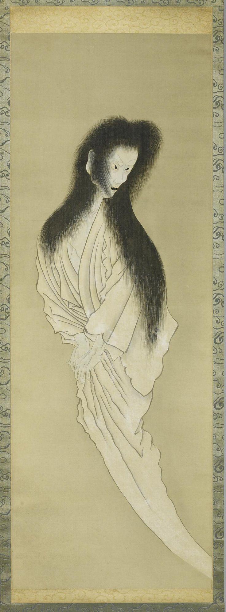 Japanese ghost | Illustration | Pinterest | Supernatural ...