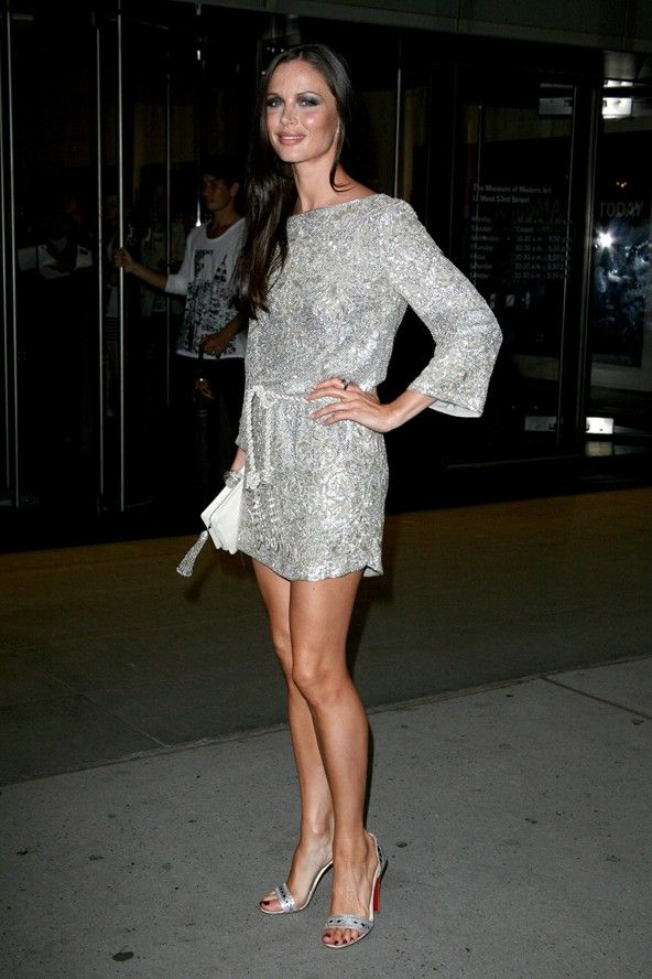 Georgina Chapman in a Marchesa dress at the New York premiere of The September Issue