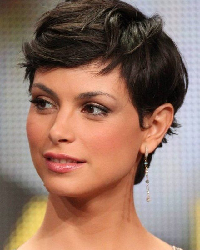 Cute Short Pixie Haircuts for Women with Round Faces
