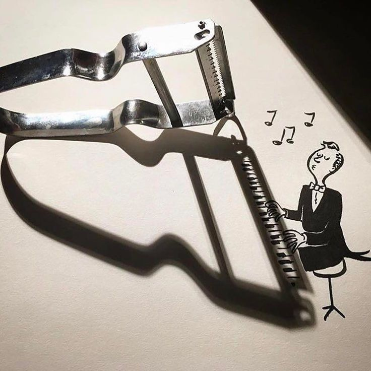 Now this is creative! Who plays piano? Created by @vincent_bal #Designspiration #artsy #creative - View this on https://www.instagram.com/Designspiration/