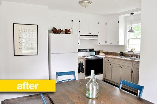 Kitchen Before & After: A Super Budget Kitchen Makeover For $500 — Kitchen Remodel | The Kitchn