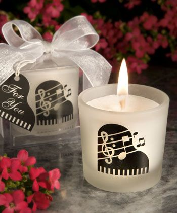 Votive Candle holders  Love Notes Musical Note And they are a great price!