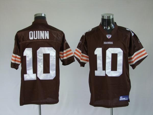 4db7788b1  25.00 Reebok NFL Jersey Cleveland Browns Brady Quinn  10 Brown ...
