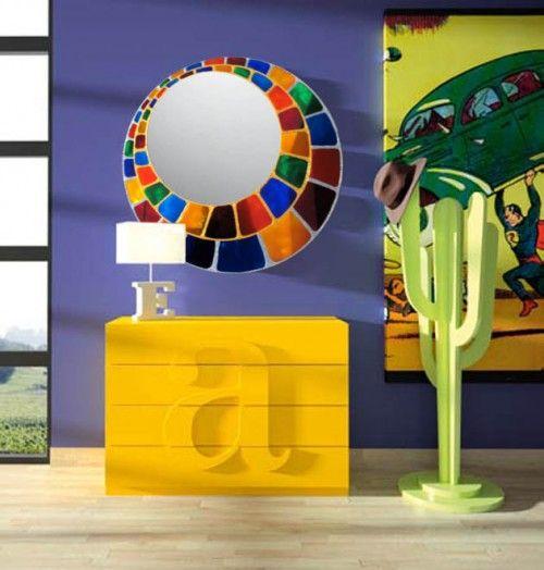 M s de 25 ideas incre bles sobre espejos decorados en - Espejos decorados a mano ...