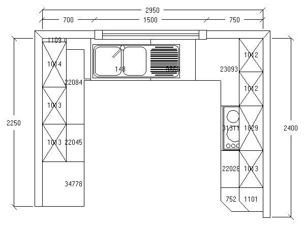 plan cuisine en u id e maison st priest pinterest. Black Bedroom Furniture Sets. Home Design Ideas