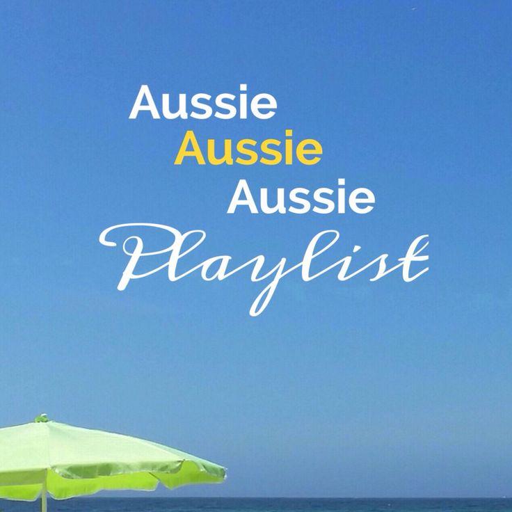 The ultimate Aussie Aussie Aussie Playlist. The best of Australian music