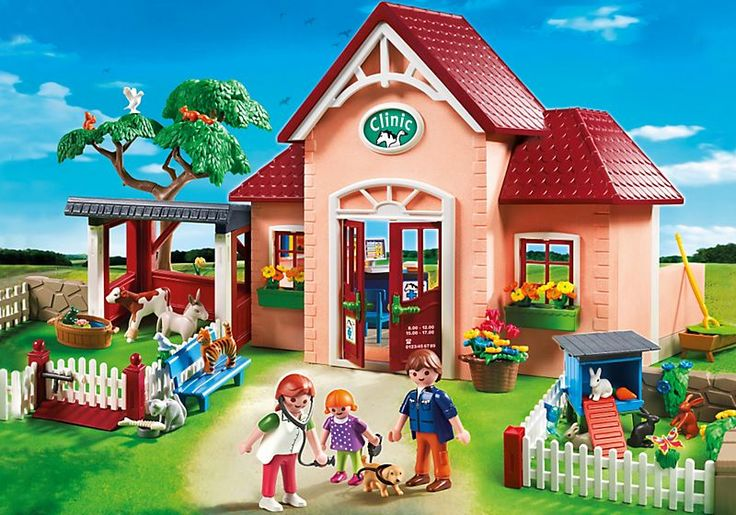 Playmobil City Life 5529 - Clinique Vétérinaire - PriceMinister Rakuten