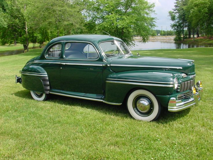 1946 mercury eight club coupe