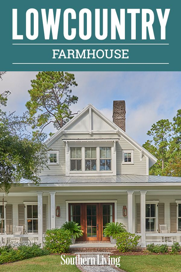 Lowcountry Farmhouse Porch House Plans Southern House Plans Craftsman House Plans