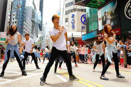 FREEDOM to dance in the Streets!
