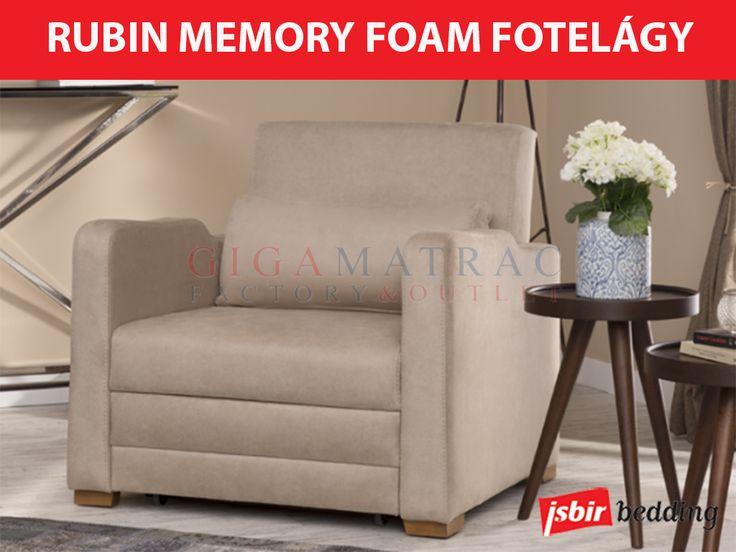 Isbir Rubin Memory Foam fotelágy