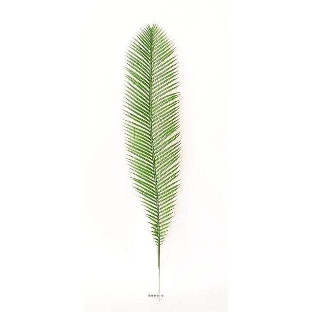 Feuille de palmier Cycas H 60 cm Plastique pour exterieur D 12 cm superbe ARTIF-DECO