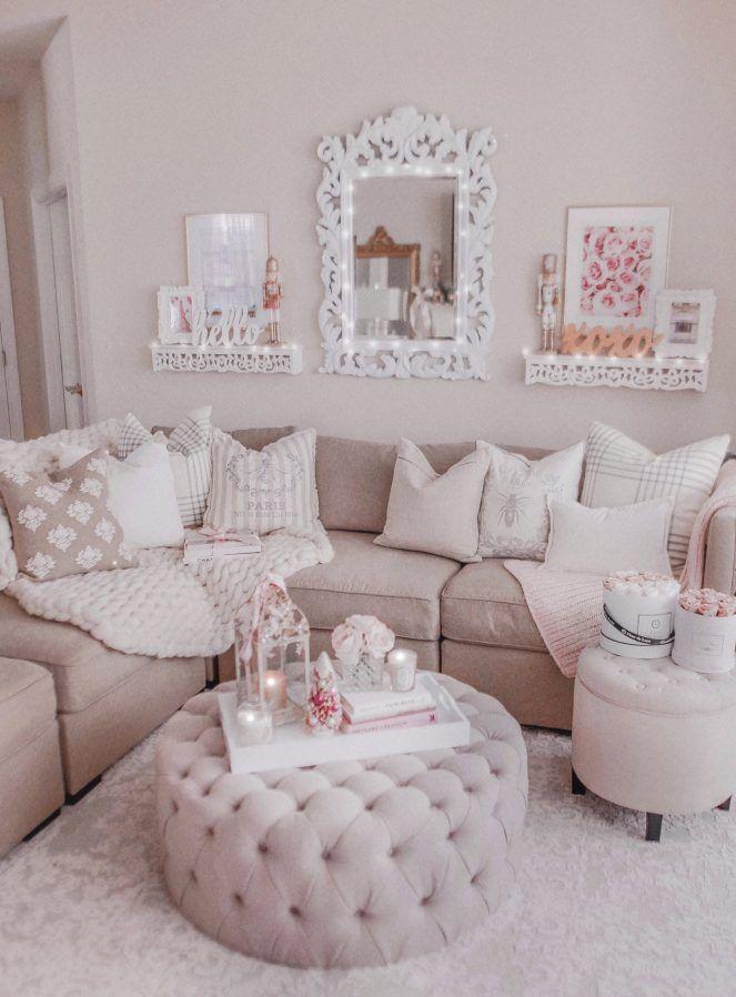 Cozy Romantic Living Room: Romantic Living Room, Glam Living Room, Cozy