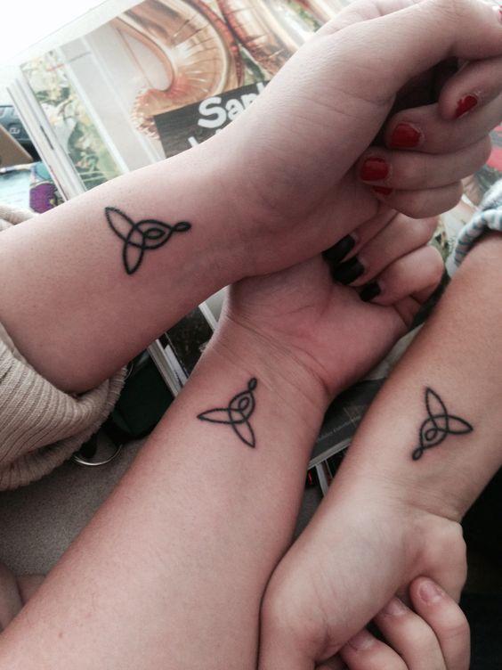 celtic knot tatuajes con diseños celta-familia
