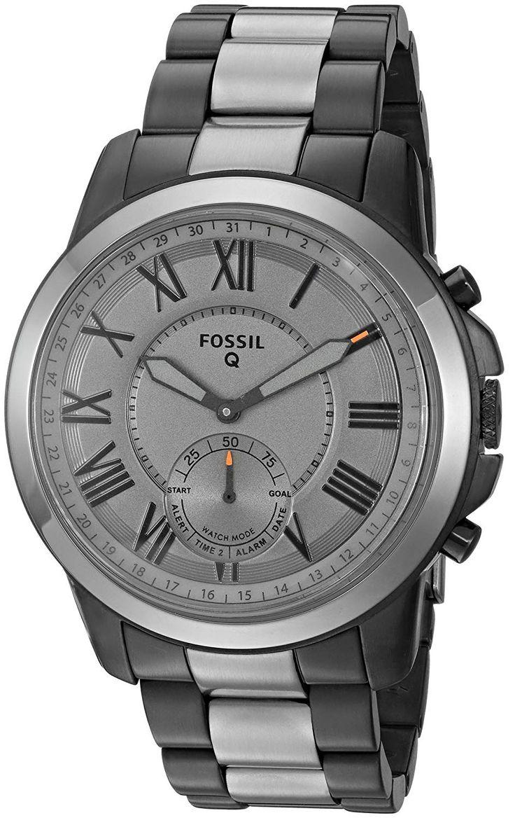 Fossil Q Men's Grant Stainless Steel Hybrid
