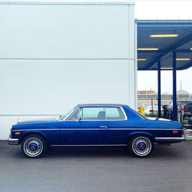 Blue Beauty - Mercedes Benz 280C W114 Coupe - photo by @lozinspace