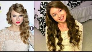 How To Get Taylor Swift's Curls Without Heat!, via YouTube.