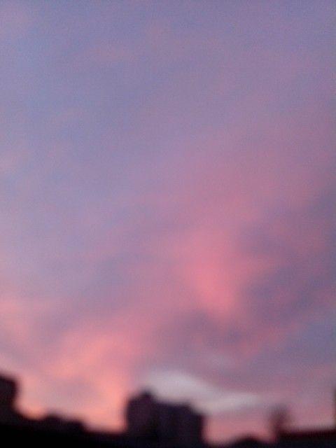 Blurry morning sky | Romania | @vsco