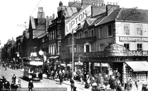 South Shields, King Street 1906, from Francis Frith