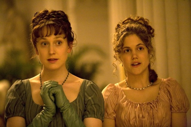 Hattie Morahan (Elinor Dashwood) & Charity Wakefield (Marianne Dashwood) - Sense & Sensibility directed by John Alexander (TV Mini-Series, BBC, 2008) #janeausten