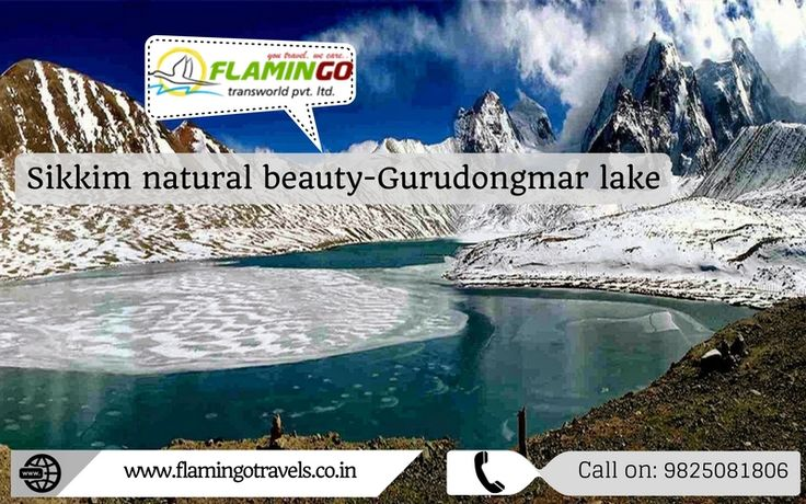 Gurudongmar lake: Sikkim natural beauty - you can visit from #sikkimtourpackages. Visit at: http://goo.gl/UF8c6H