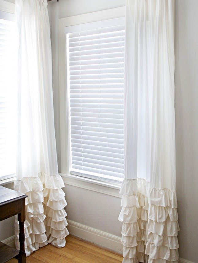 19 DIY Window Treatments to Update Your Space via Brit   Co