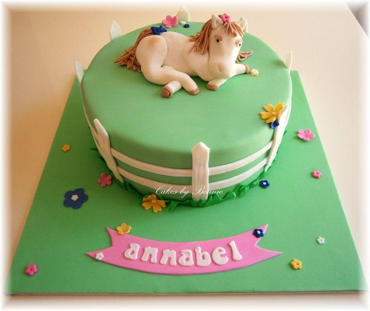 Horse Cake, Picket Fence, Pony Cake **Cakes By Bonnie