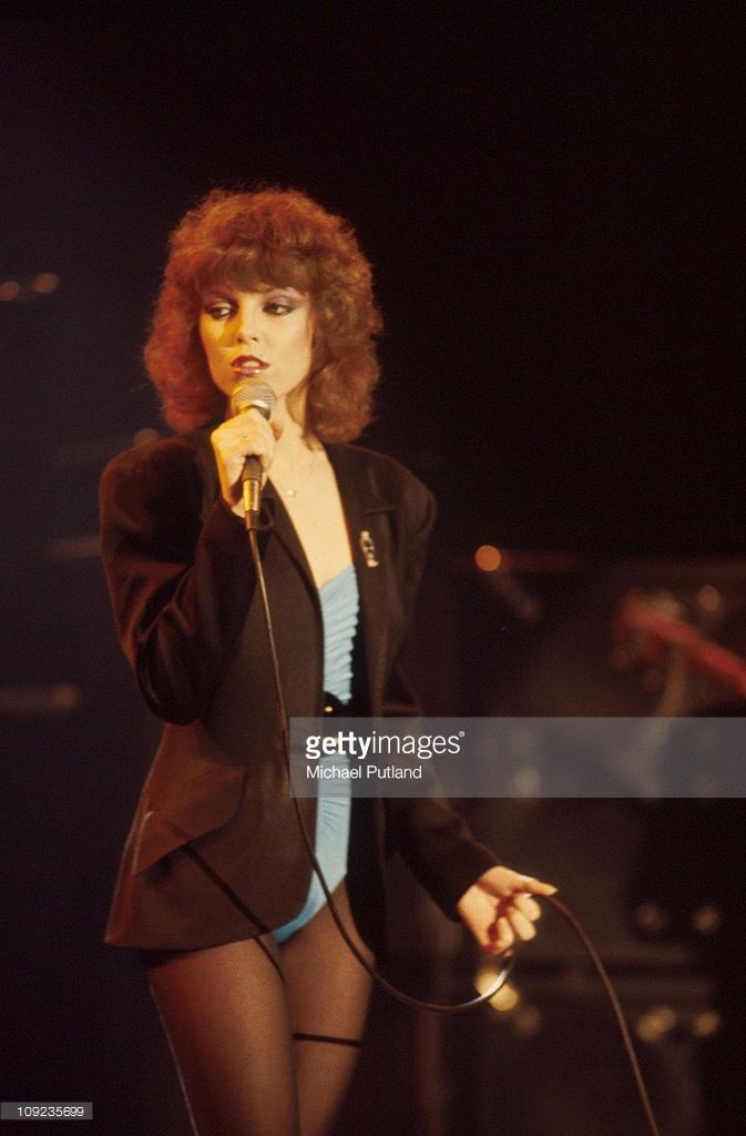 Pat Benatar performs on stage, New York, 1980. Credit: Michael Putland