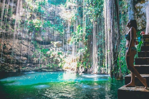 Cenote Ik Kil Mexico www.piezloves.com