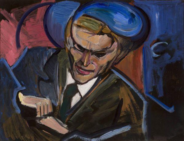 Portret Tytusa Czyżewskiego - Leon Chwistek