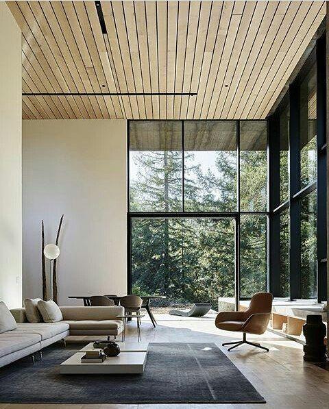 "528 Me gusta, 5 comentarios - Atelier 620 (@atelier620) en Instagram: ""Northen California Residence ** projeto de Faulkner Architects #houses #arquitetura #livingroom…"""