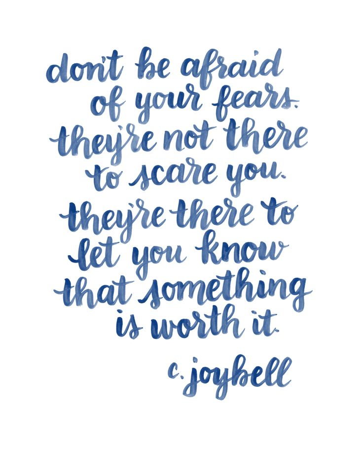 Quotes About Being Afraid Love