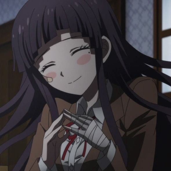 Mikan Tsumiki Anime Icons You Don T Have To Credit Me If You Use Them But A Reblog Would Be Much Appreciated Mod Mikan Mikan Tsumiki Anime Danganronpa