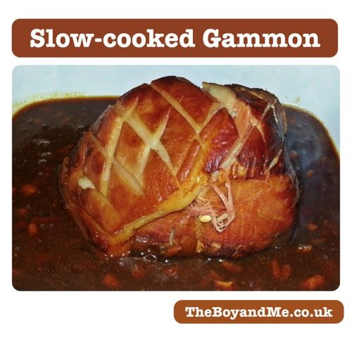 Slow Cooked Gammon in Coke