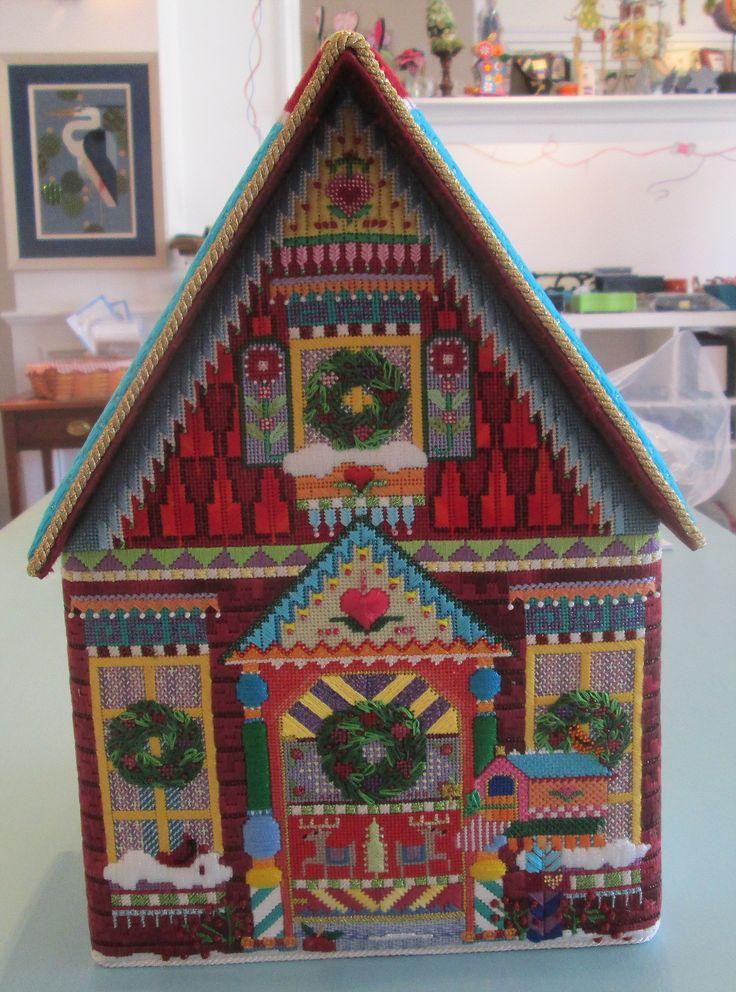 Christmas House Design 2338 best needlework - christmas images on pinterest | needlework
