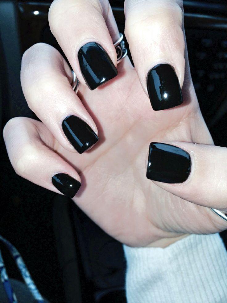 black square acrylic nails - photo #28
