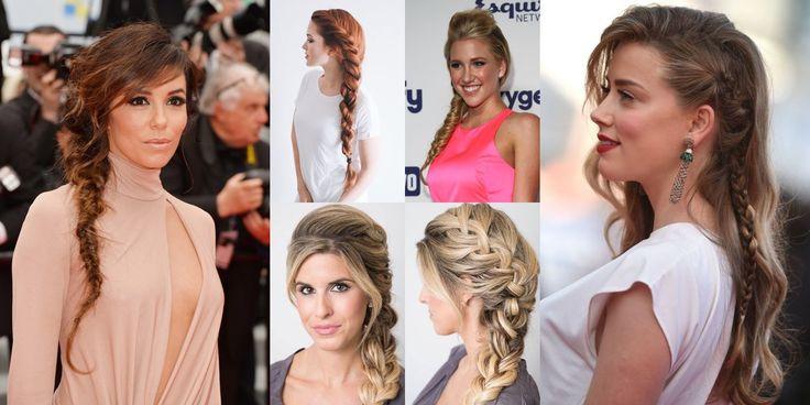 Treccia laterale, come farla in modo semplice e creativo! ,       La treccia laterale è una delle acconciature preferite dalle donne che hanno i capelli lunghi e sono alla ricerca di uno stile rapido, moderno ...