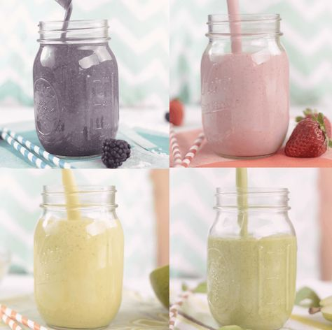 Here are 4 new great high-protein fruit smoothie recipes using Vanilla Protein Powder with Nutritional Booster.