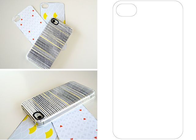 Iphone Case Insert Template