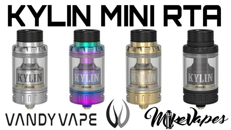 Kylin Mini Single Coil RTA Review By Vandy Vape - Build, Wick, & Giveawa...