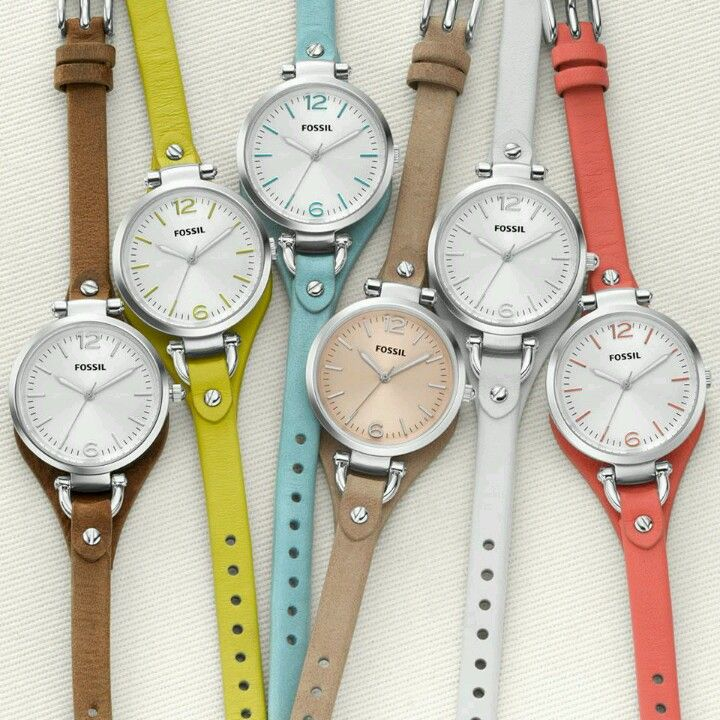 "Fossil watch ""Georgia""; perfect everyday watches 