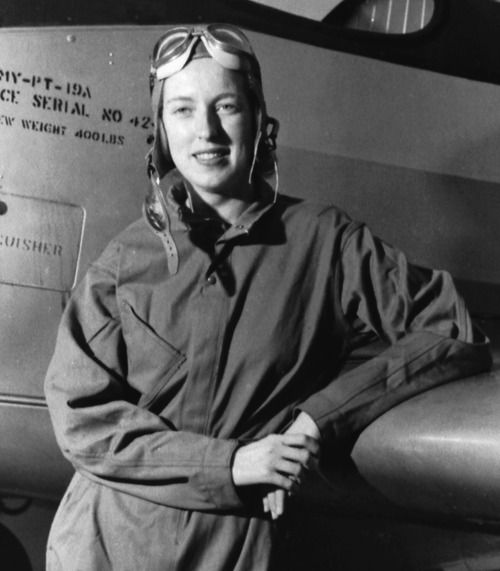 Cornelia Clark Fort (Feb 5, 1919–Mar 21 1943) aviator in Women's Auxiliary