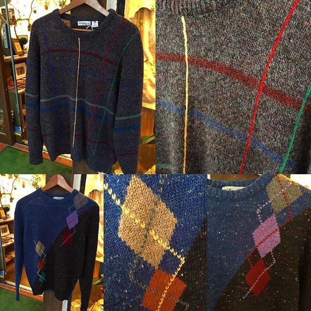 【choosy.choosy】さんのInstagramをピンしています。 《こちらのセーターも素敵ですよ^ - ^  上 カラフルラインセーター 5800yen 下 アーガイルセーター 5200yen  紹介した商品全て通販可能です♫ 気になった方は是非お気軽にお問い合わせ下さい♡ choosy.choosy.choosy@gmail.com  #choosy #ものがたりを着る #静岡 #古着 #レディース古着 #古着屋 #セレクトショップ #作家 #アクセサリー #絵本 #森 #vintage #antique #usedclothing #used #jpn #Shizuoka #コーディネート #スタイリング #お洒落さんと繋がりたい #通販》