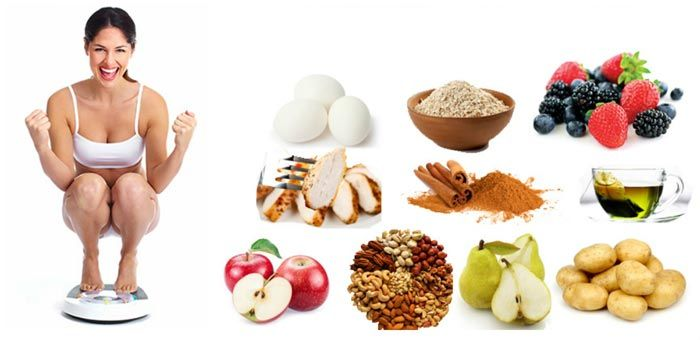 alimentos sanos para perder peso