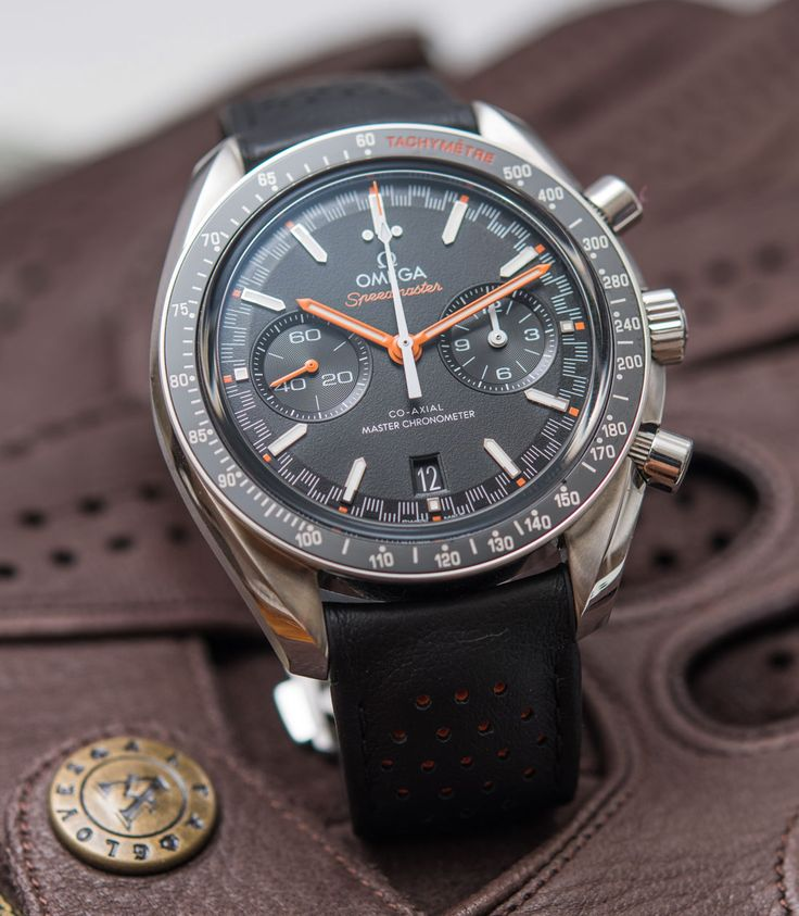 Omega Speedmaster Racing Master Chronometer Watch Review