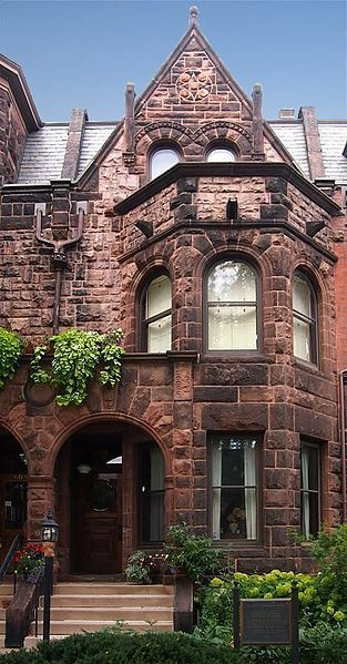 F. Scott Fitzgerald House. Photo Credit: McChiever. Click on the link below for more.