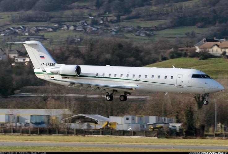 Canadair CL-600-2B19 Challenger 850 (CRJ-200SE), MBK-S, RA-67220, cn 8091, built 6/2008 (Kolavia), MBK-S delivered 4/2013. Foto: Chambery/Aix-les-Bains, France, 11.1.2015.