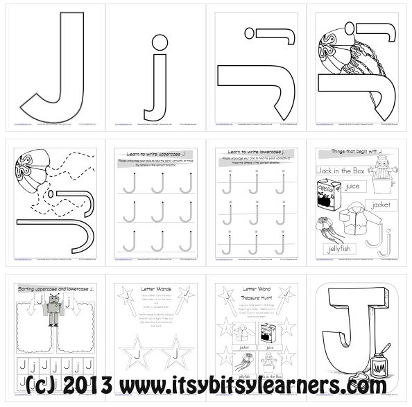 17 best images about letter j on pinterest handwriting worksheets cut and paste and activities. Black Bedroom Furniture Sets. Home Design Ideas